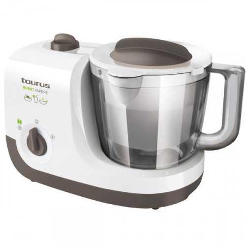robot de cocina taurus vapore